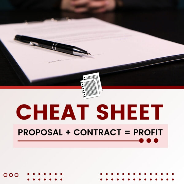 proposal plus contact equals profit